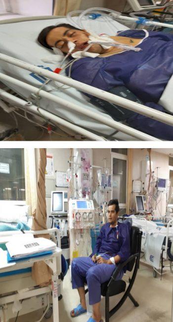 کیس ارایه شده از بیمارستان امام خمینی